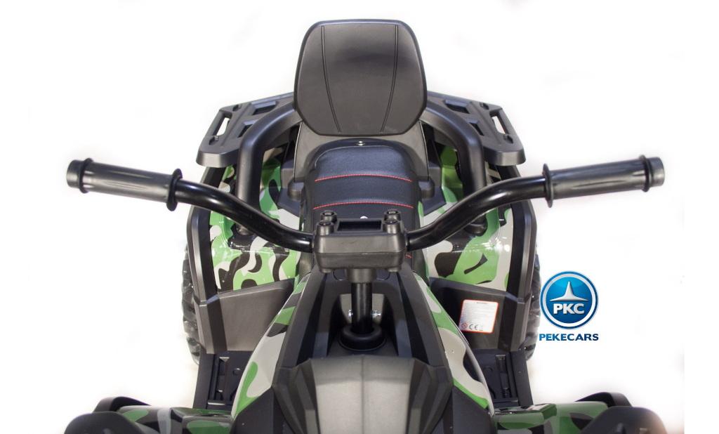 Quad electrico desert verde camuflaje 12V 2.4G
