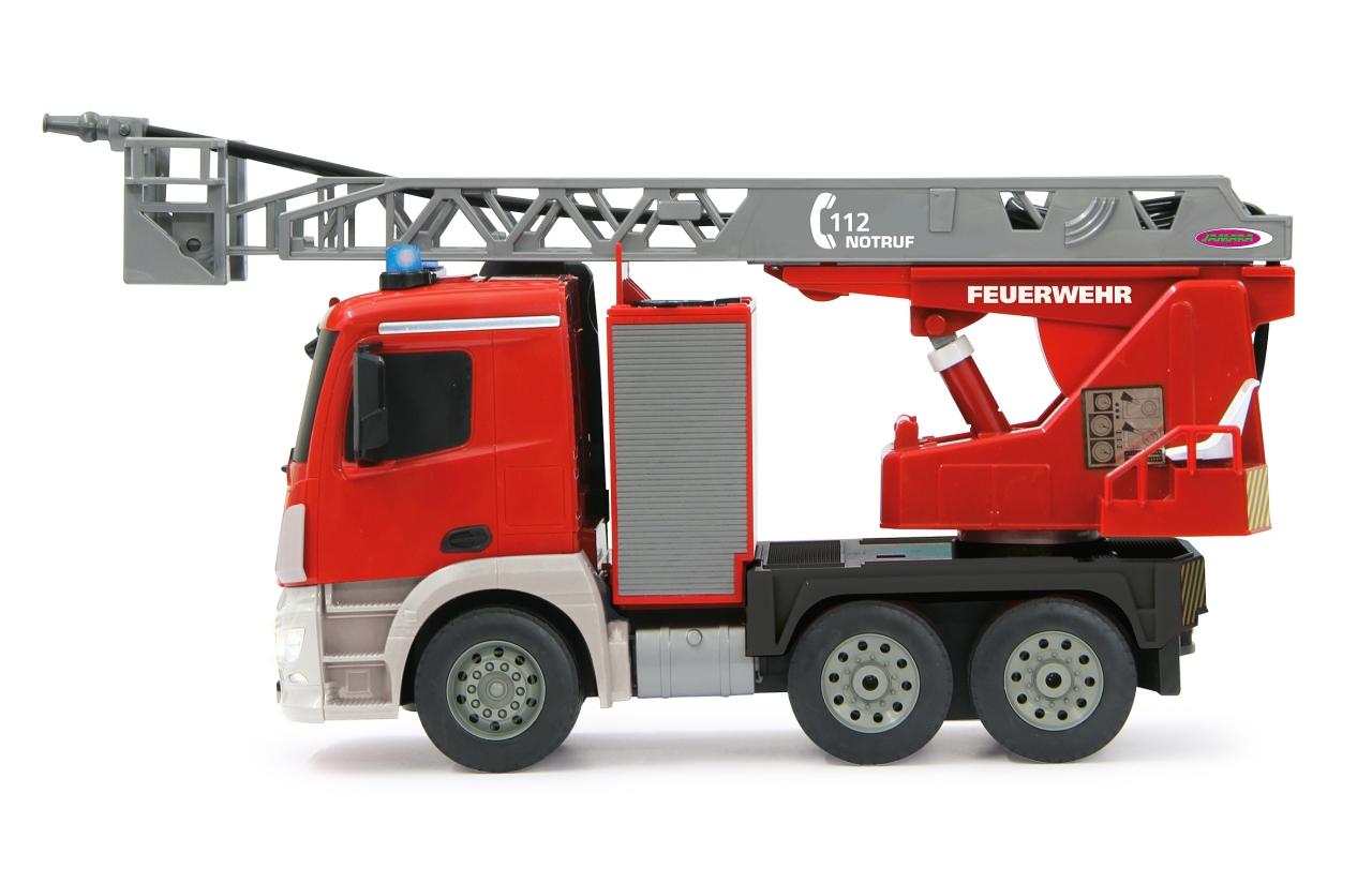 camión de bomberos infantil RC width=