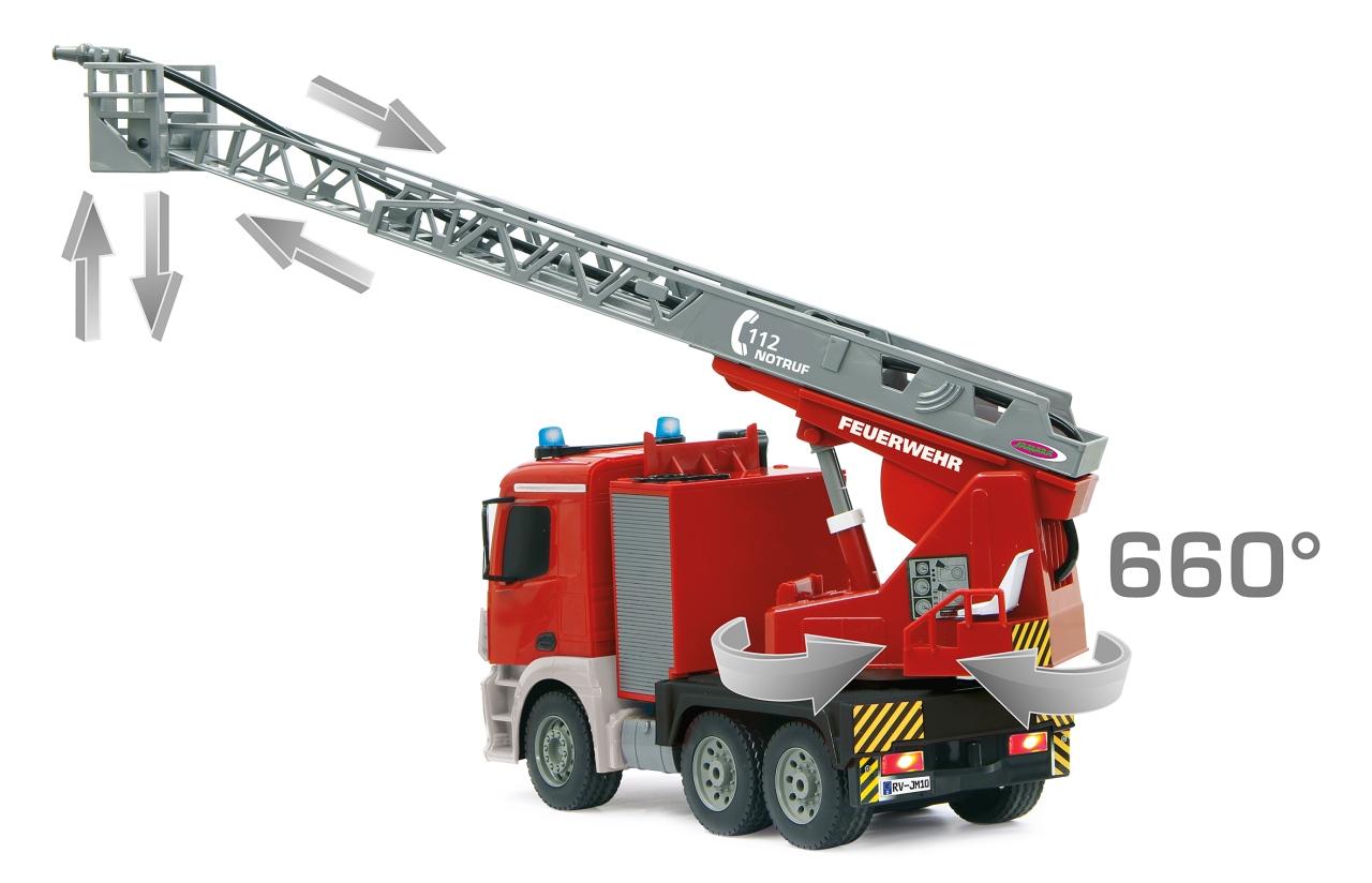 Camión de bomberos radio control width=