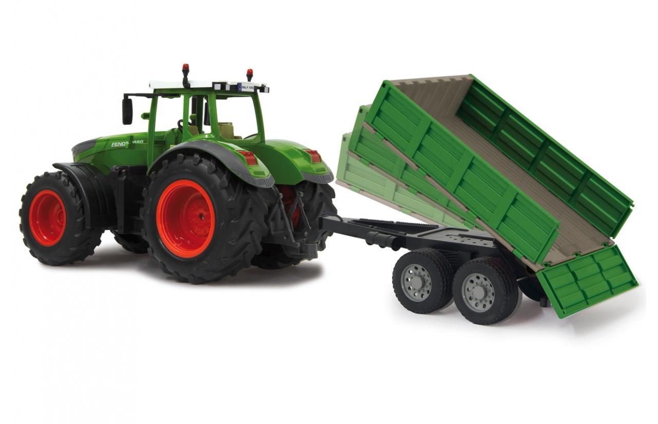 Remolque basculante para Tractor radiocontrol feldt 1050