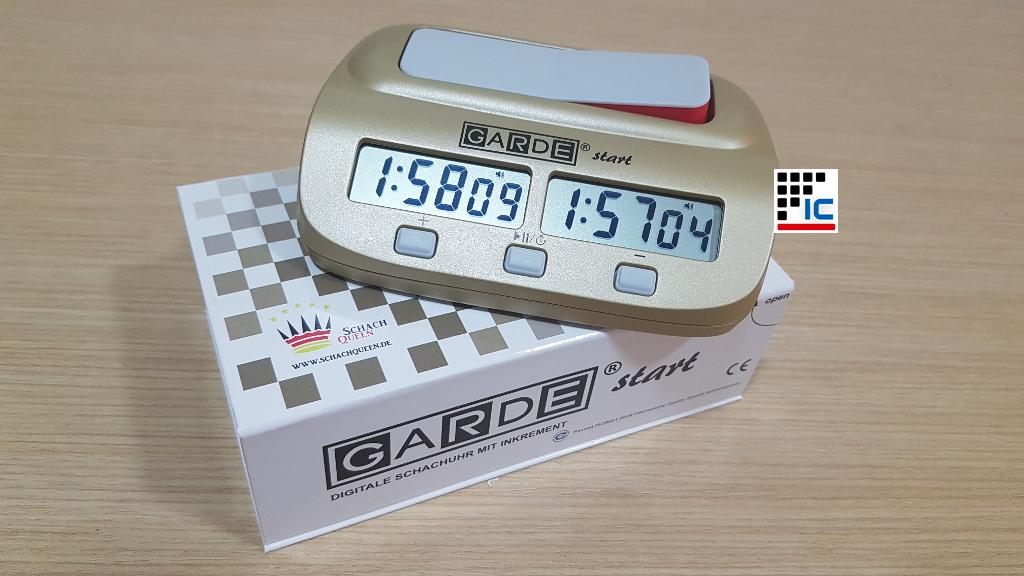 reloj digital garde ajedrez inforchess width=