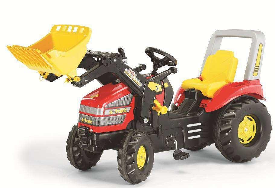 Tractor X-Trac para niños grandes