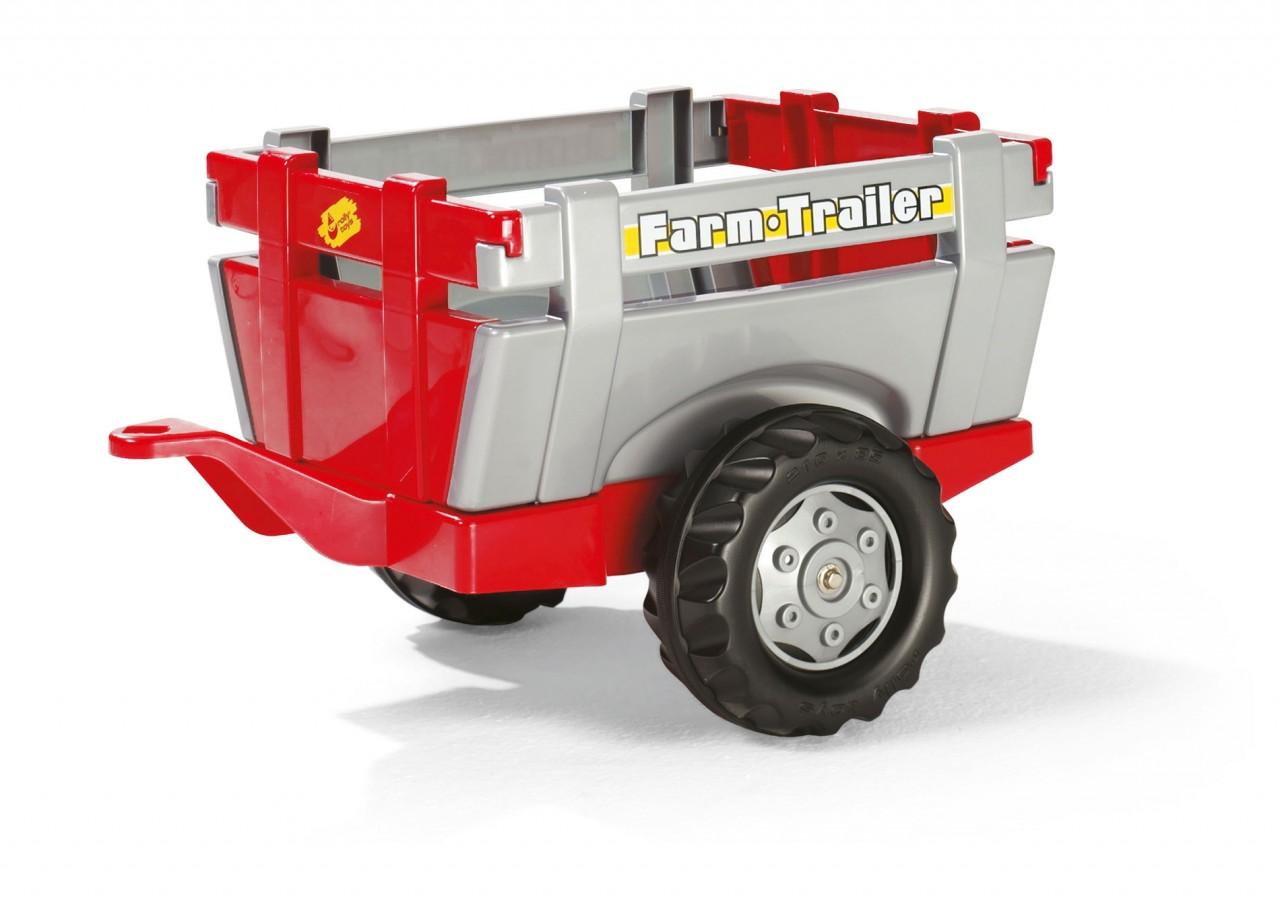 Remolque Tractor Rolly Rojo