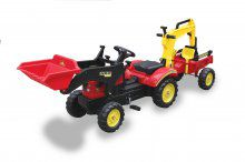 TRACTOR A PEDALES CONSTRUCTION FULL OPTIONS