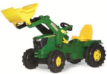 tractor de pedales para niños