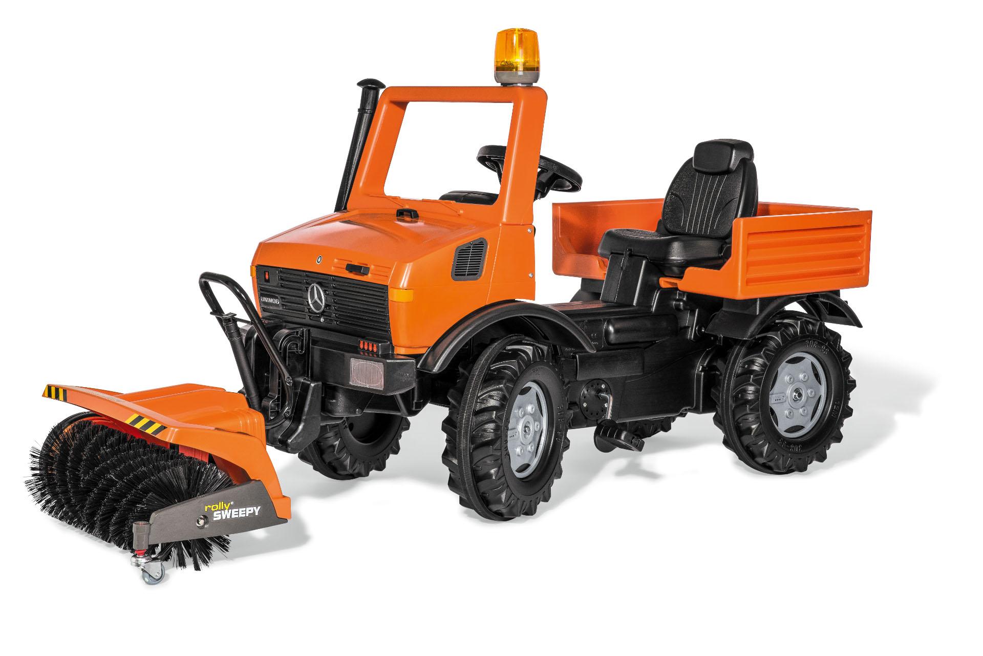 Camion mercedes unimog naranja