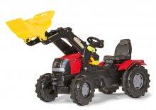 tractor pedales case III con pala
