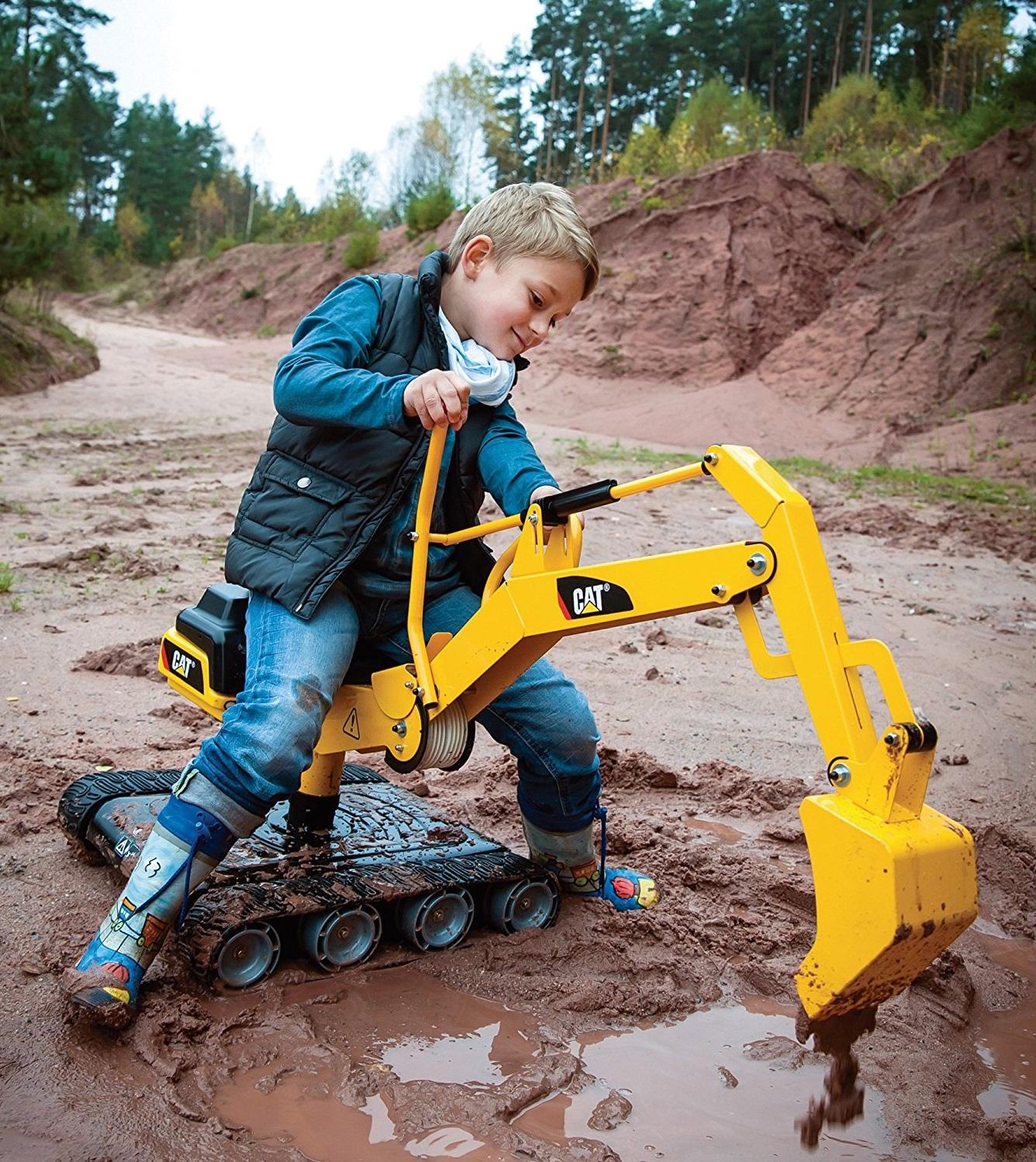 excavadora infantil