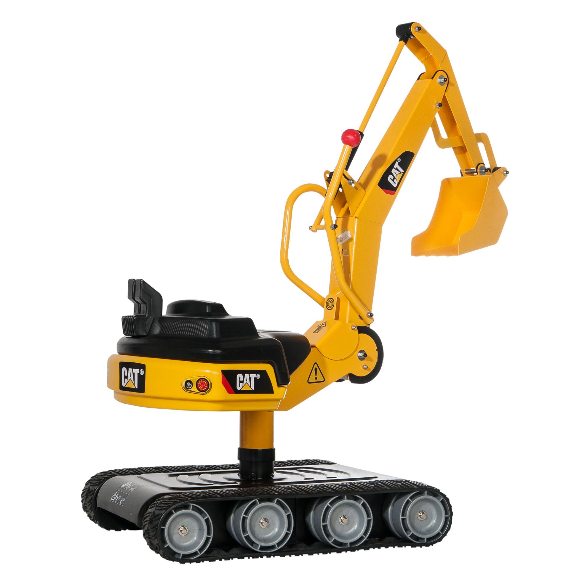 excavadora infantil width=