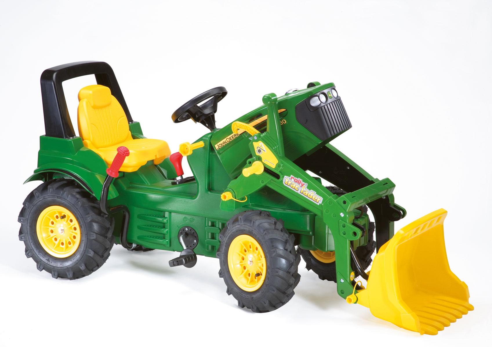Tractor de pedales john deere 7930 extra - vista capo