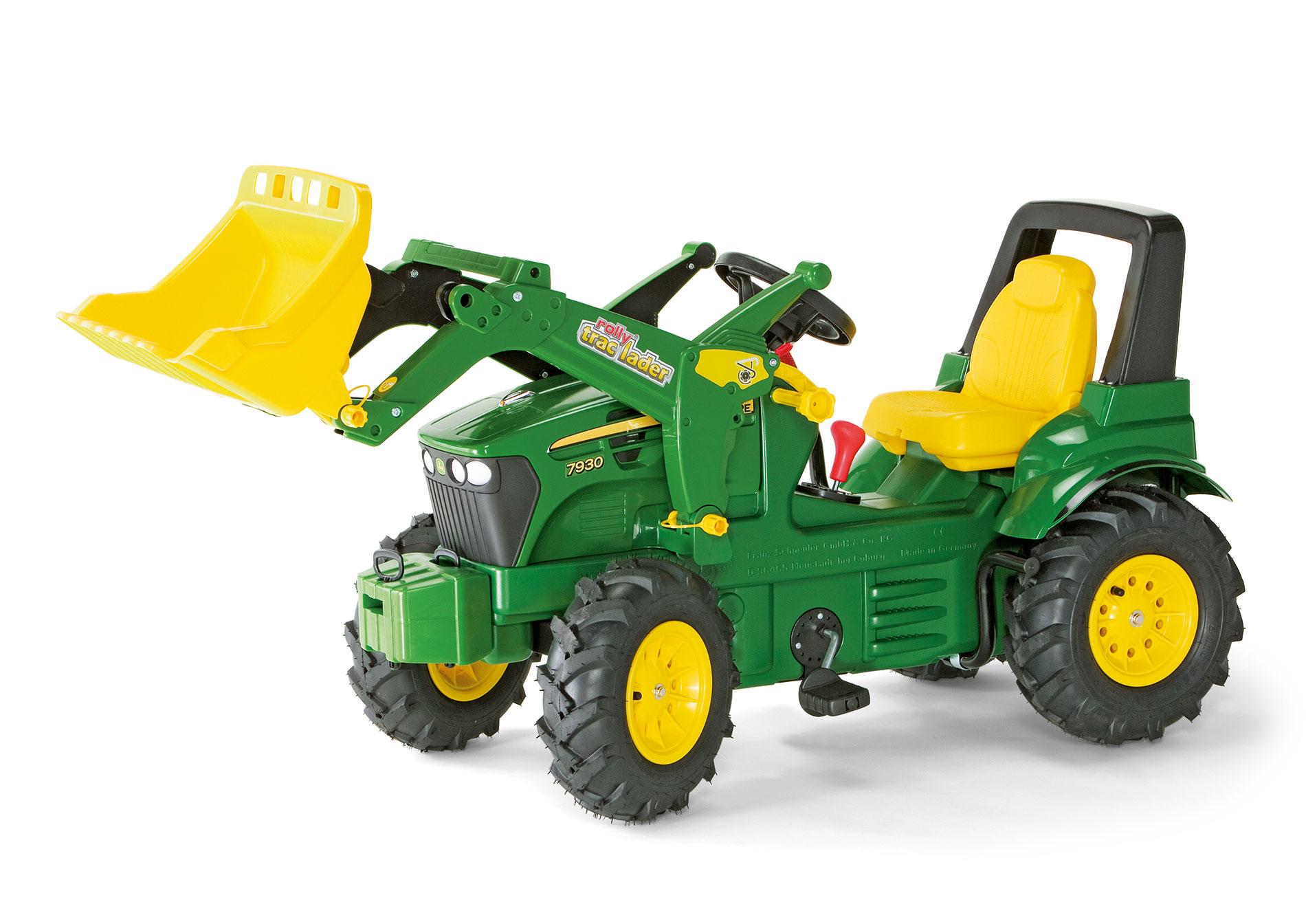 Tractor de pedales john deere 7930 extra