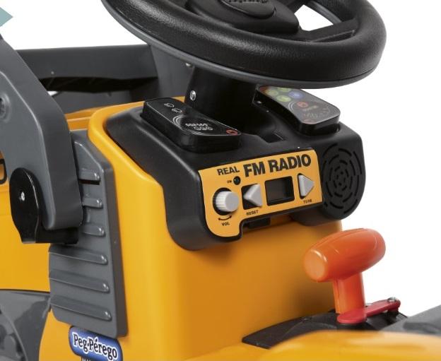 Deere Construccion con pala 12V - Radio FM width=