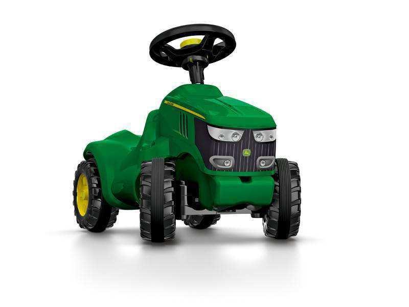 Detalle frontal mini tractor John Deere 6150 R width=