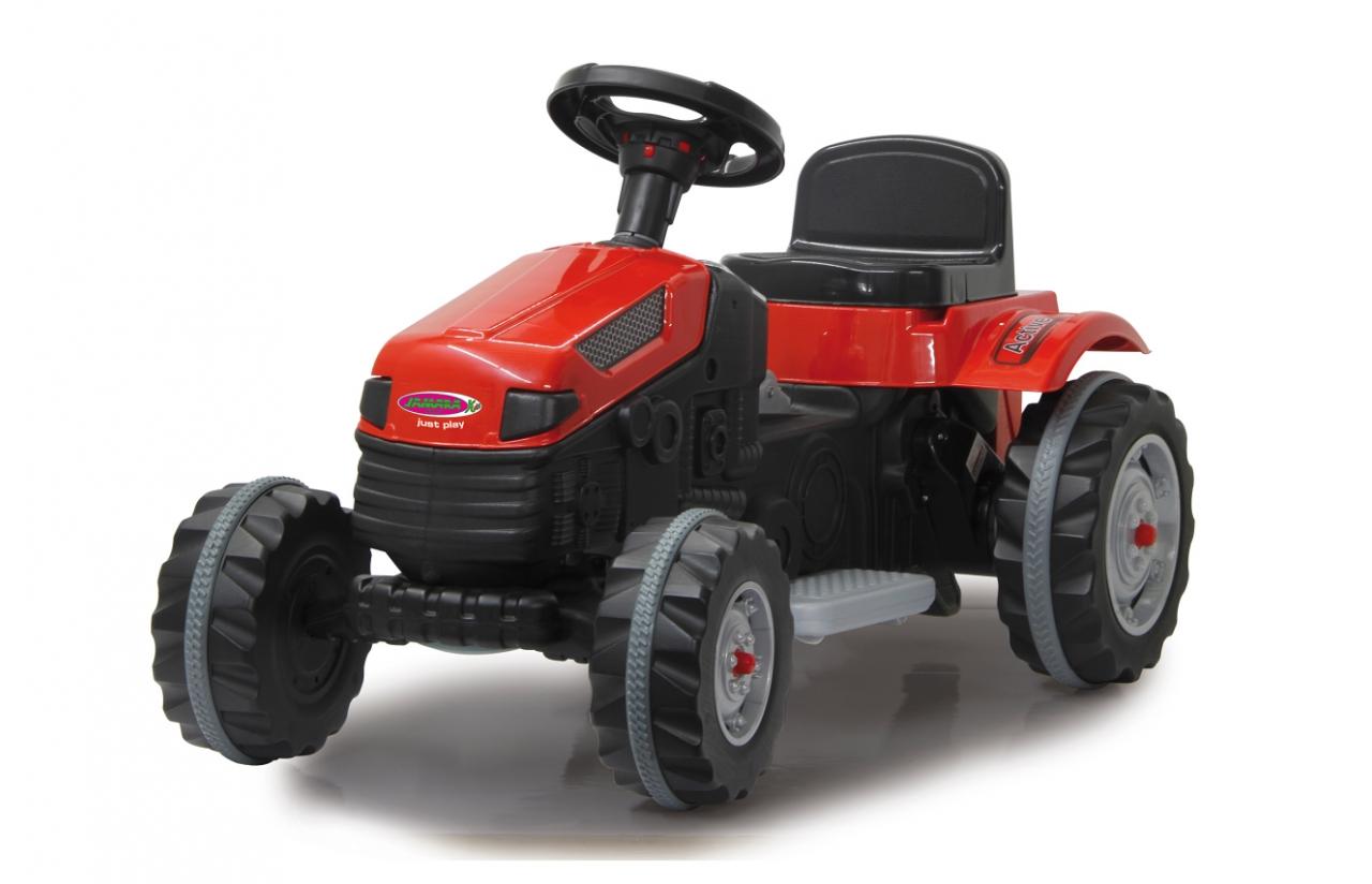 tractor electrico 6v rojo