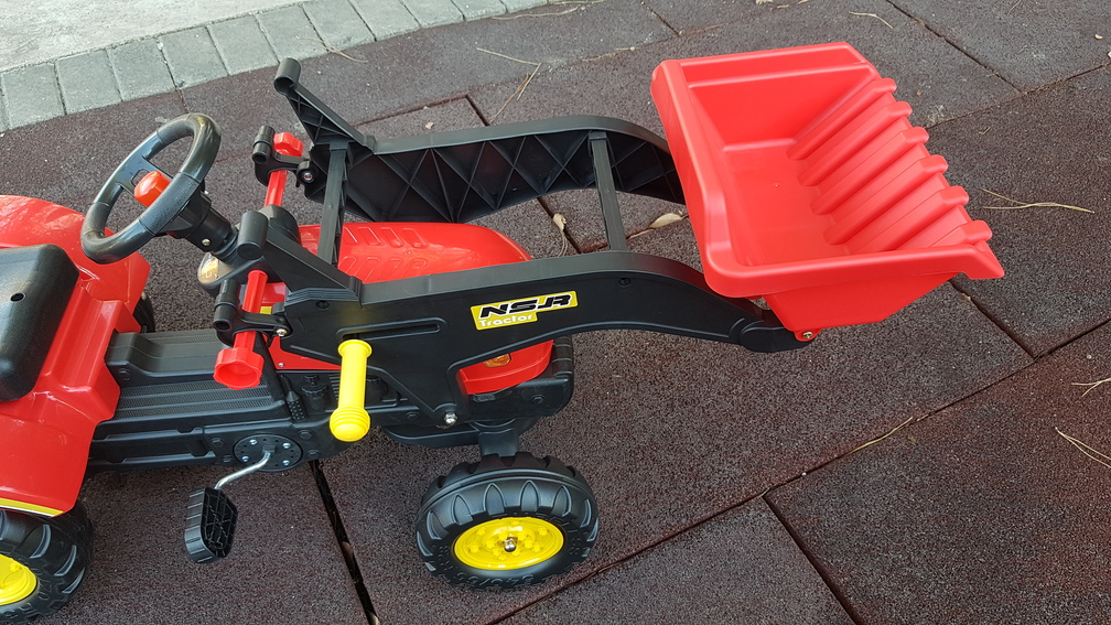 TRACTOR A PEDALES FULL OPTIONS - PALA RECOGIDA 2