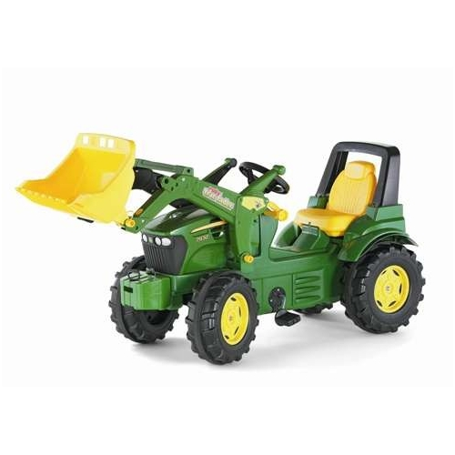 Tractor John Deere para niños 7930 con pala excavadora delantera width=