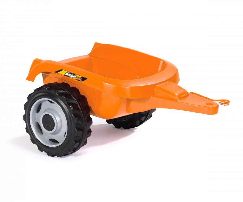 Detalle del remolque del tractor builder max smoby width=