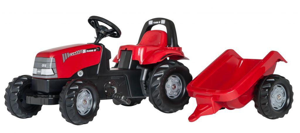 Tractor Case III infantil de color rojo