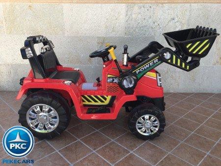 TRACTOR ELÉCTRICO PALA EXCAVADORA DELANTERA 12V 2.4G S/H SPEED CASE III STYLE 2 width=
