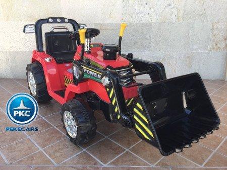 TRACTOR ELÉCTRICO PALA EXCAVADORA DELANTERA 12V 2.4G S/H SPEED CASE III STYLE 3 width=