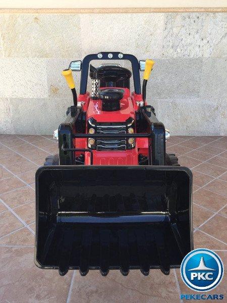 TRACTOR ELÉCTRICO PALA EXCAVADORA DELANTERA 12V 2.4G S/H SPEED CASE III STYLE 4 width=
