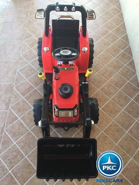 TRACTOR ELÉCTRICO PALA EXCAVADORA DELANTERA 12V 2.4G S/H SPEED CASE III STYLE 6 width=