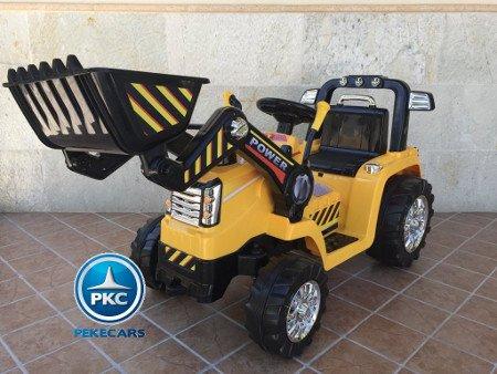 TRACTOR ELÉCTRICO PALA EXCAVADORA DELANTERA 12V 2.4G S/H SPEED CAT STYLE 9 width=
