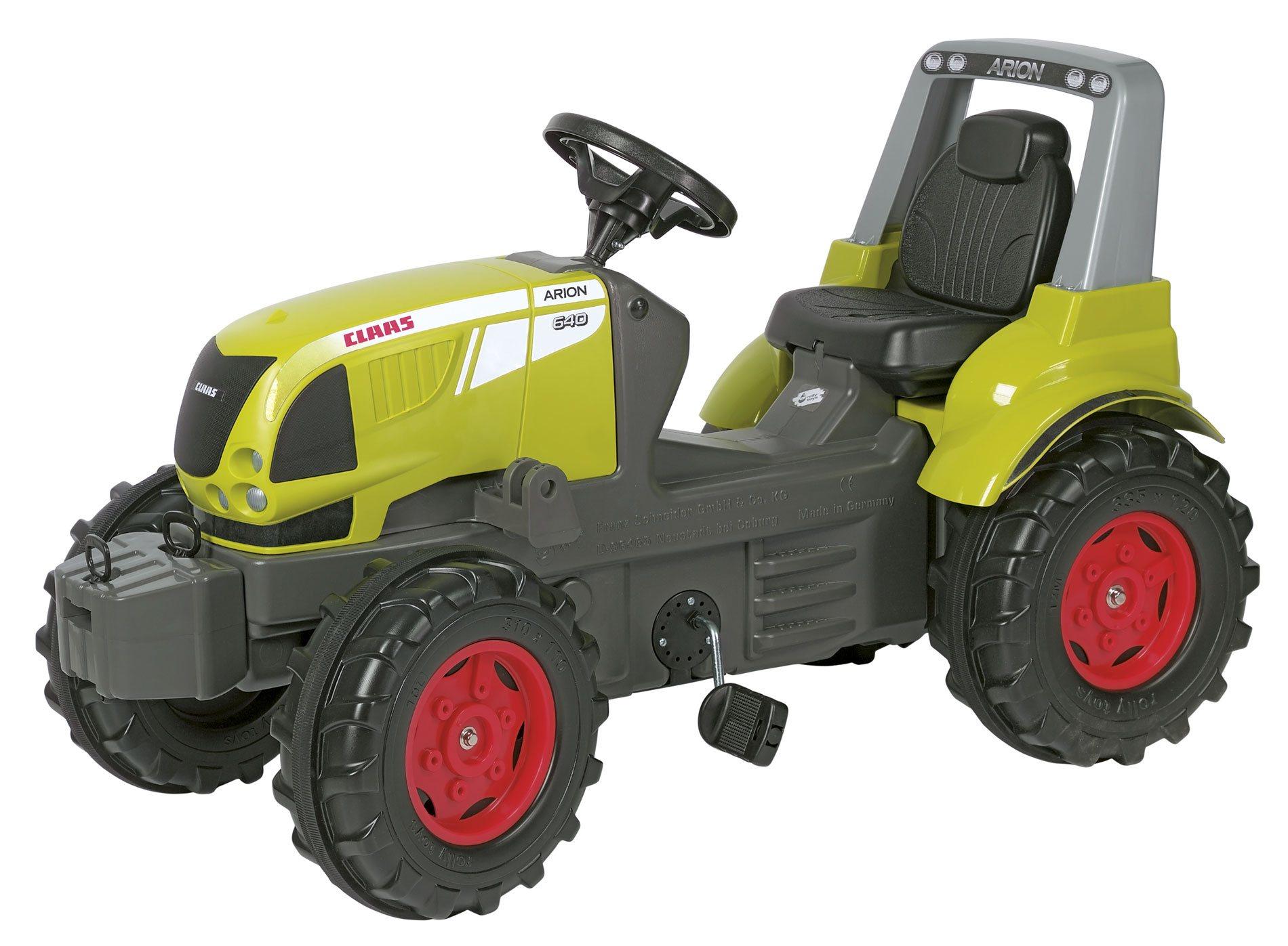 Tractor Claas Arion de gran realismo en precioso color verde claro pistacho width=