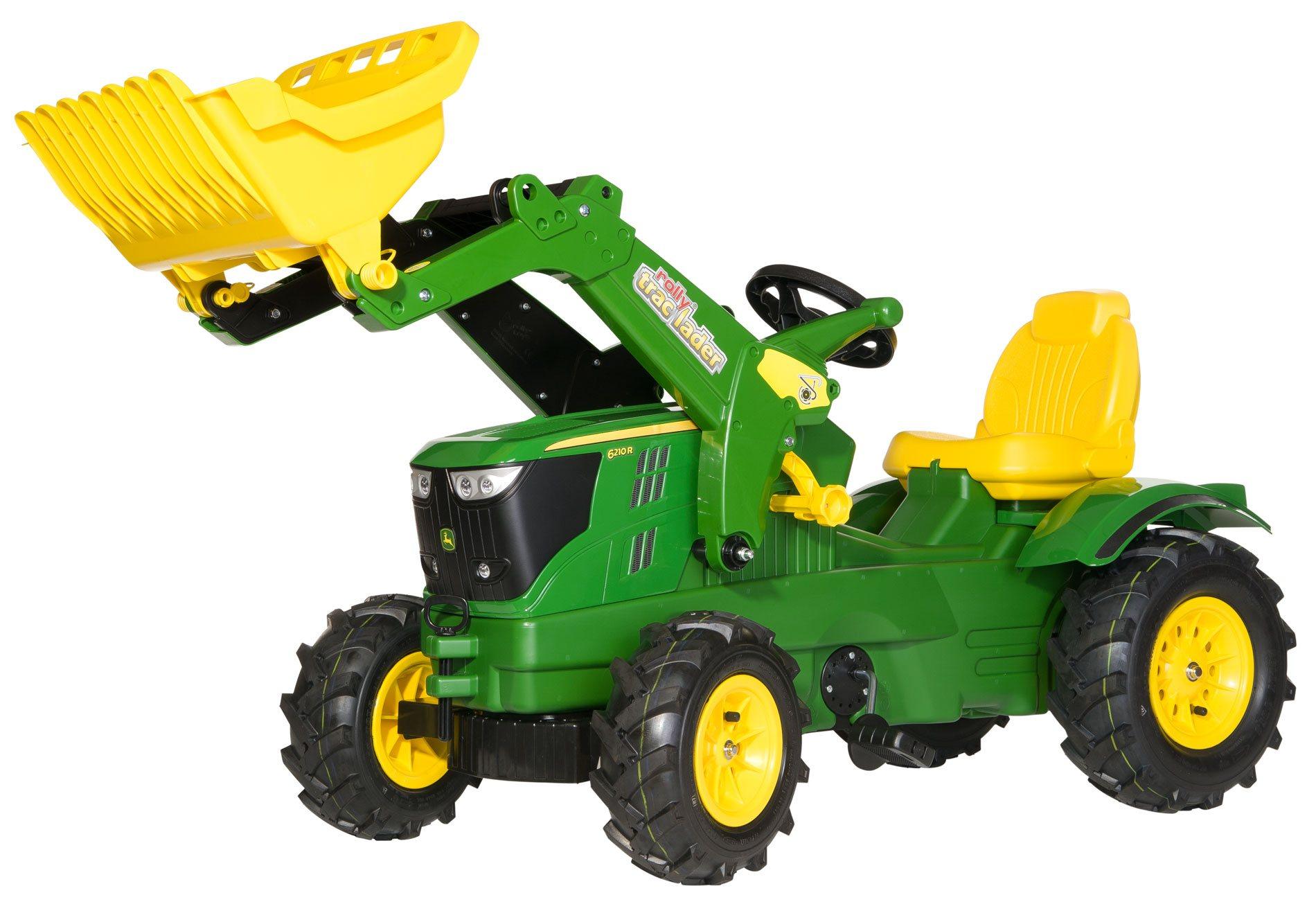 La versión luxe del tractor John Deere 6210R width=