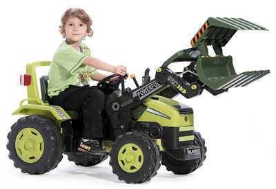 Tractor con pala de carga delantera inforchess