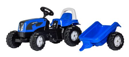 Tractor Landini Infantil Con Remolque