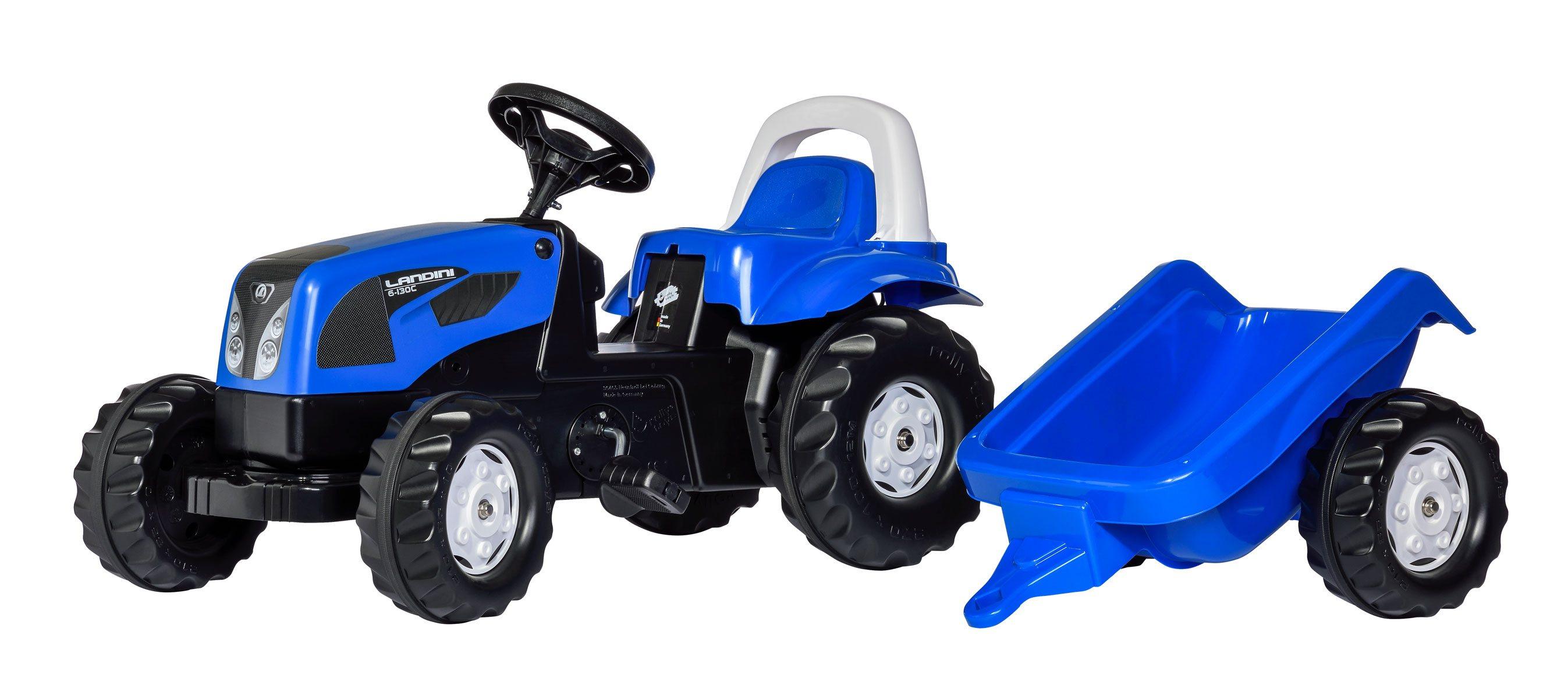 Tractor Landini Infantil Con Remolque width=