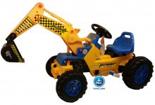 Tractor a pedales power superior amarillo