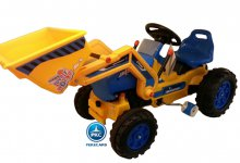 Tractor a pedales strong superior amarillo
