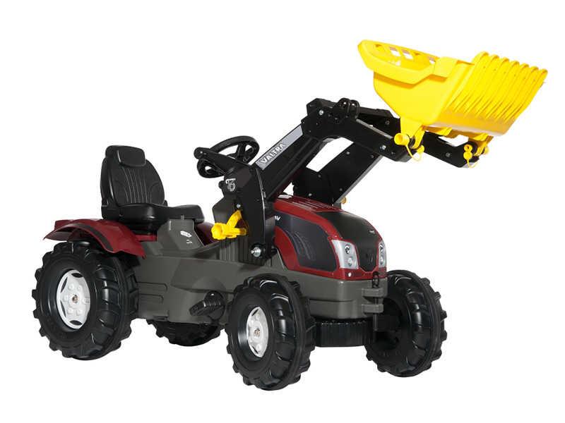 tractores de pedales valtra rojo