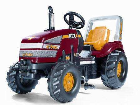 Espectacular Tractor Rolly X-Trac