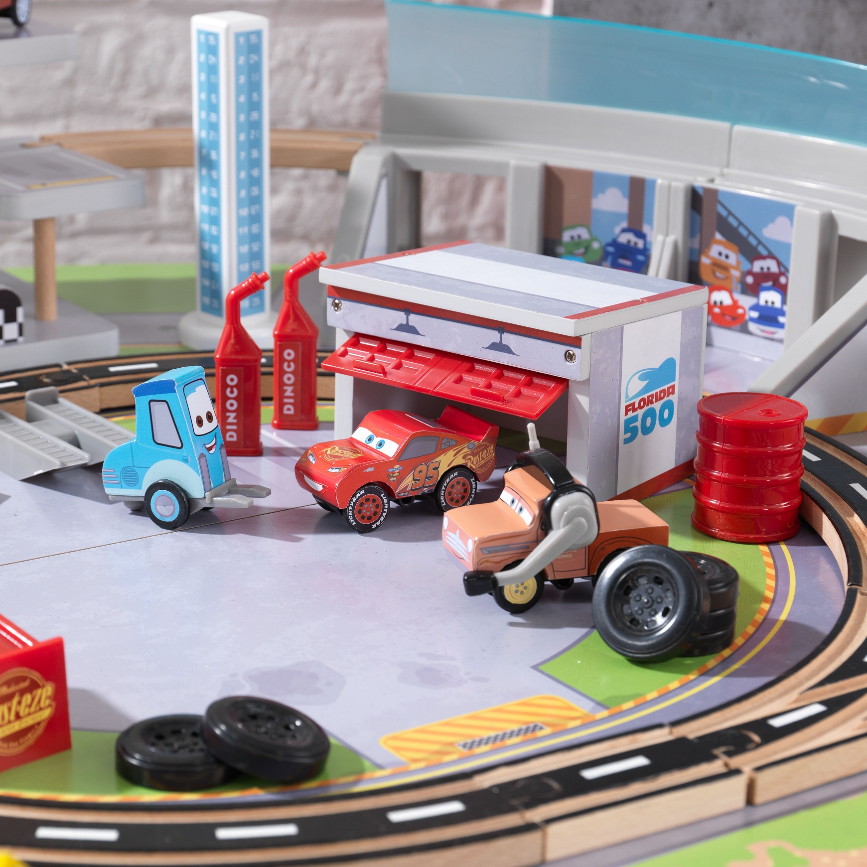 Autodromo de florida con mesa disney® pixar cars 3 17210-7