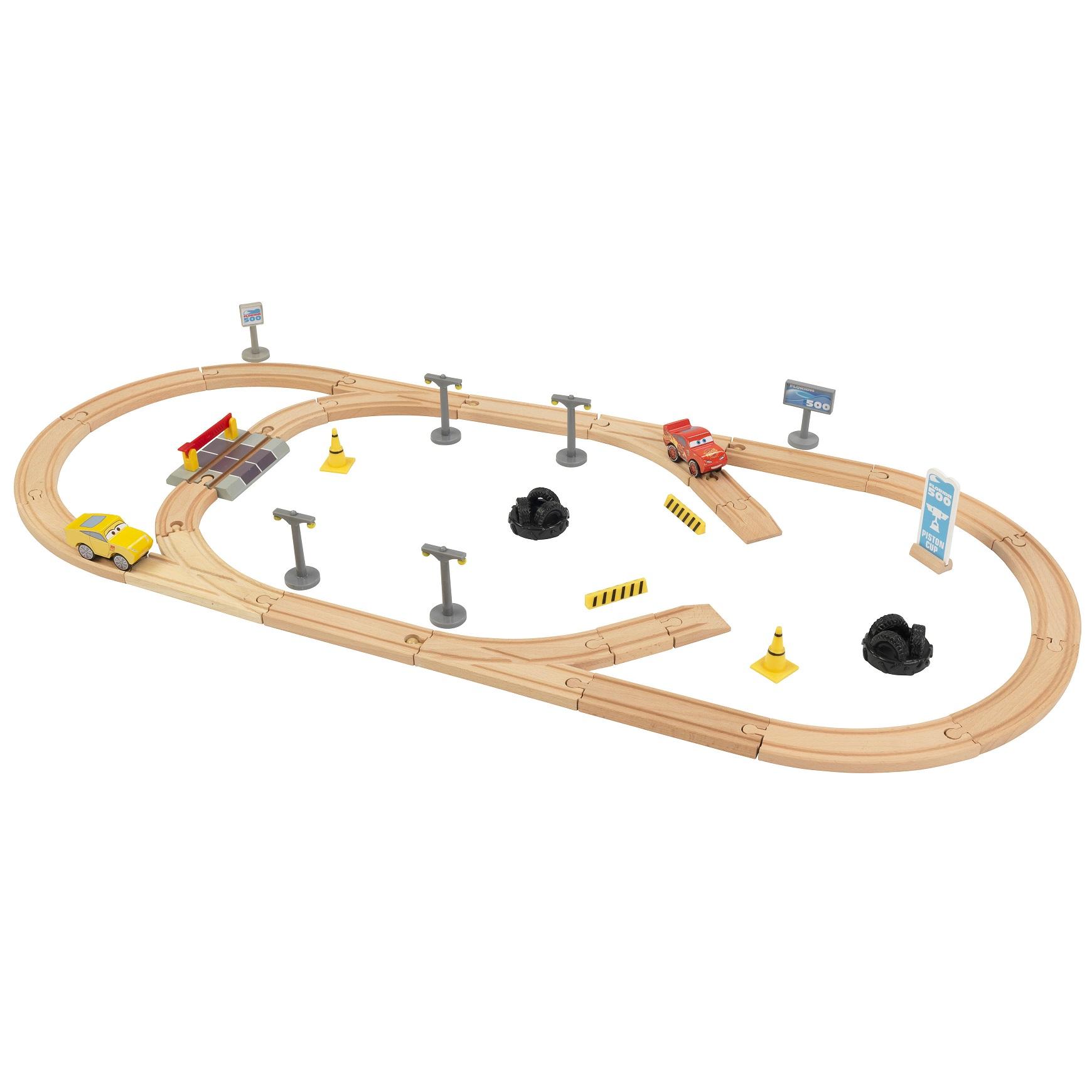 pack pista de carretera de madera disney® pixar cars 3 - 17213 Imagen 3