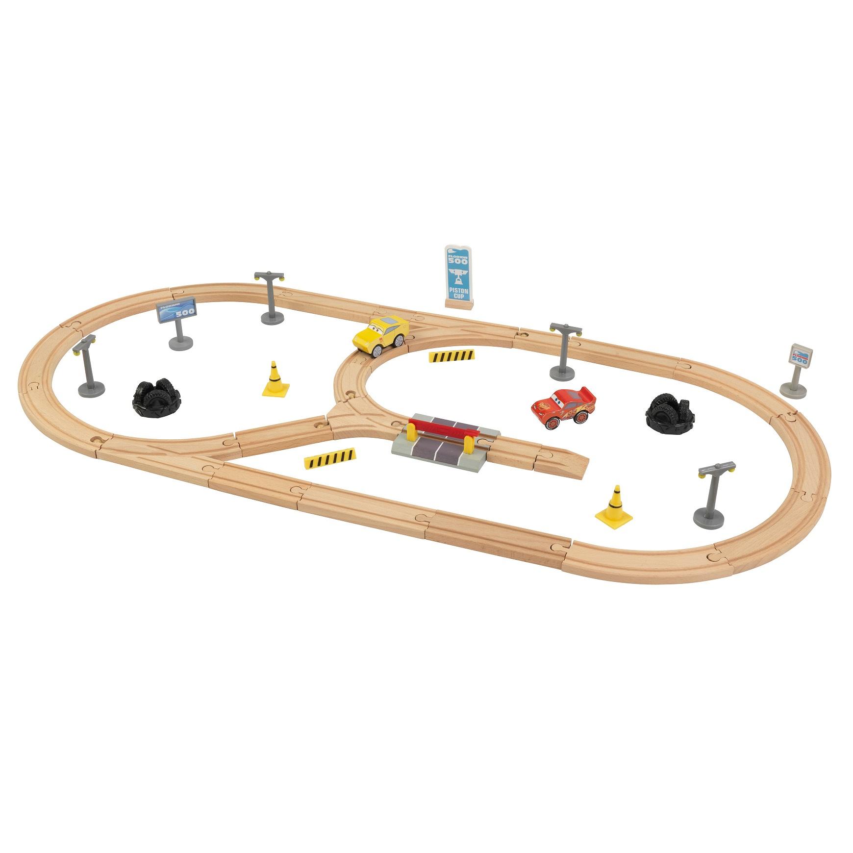 pack pista de carretera de madera disney® pixar cars 3 - 17213 Imagen 4