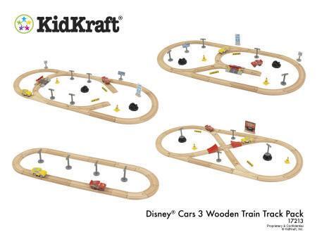 pack pista de carretera de madera disney® pixar cars 3 - 17213 Imagen 1