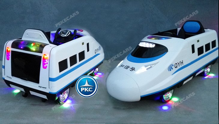 Iluminación tren eléctrico infantil pekecars 12v blanco width=