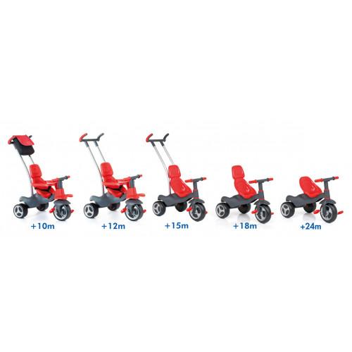 Triciclo urban trike rojo + bolso-1 width=