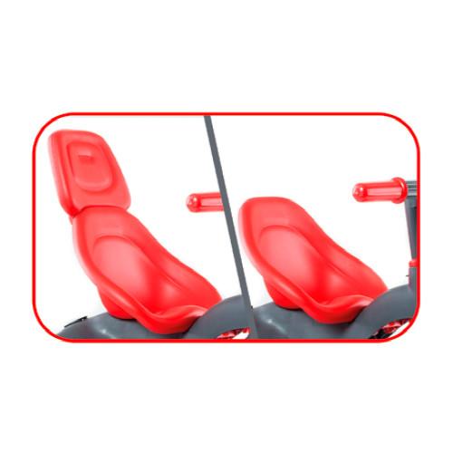 Triciclo urban trike rojo + bolso-2 width=