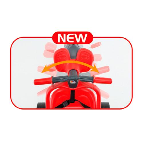 Triciclo urban trike rojo + bolso-3 width=