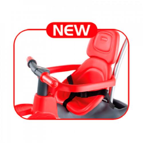 Triciclo urban trike rojo + bolso-4 width=