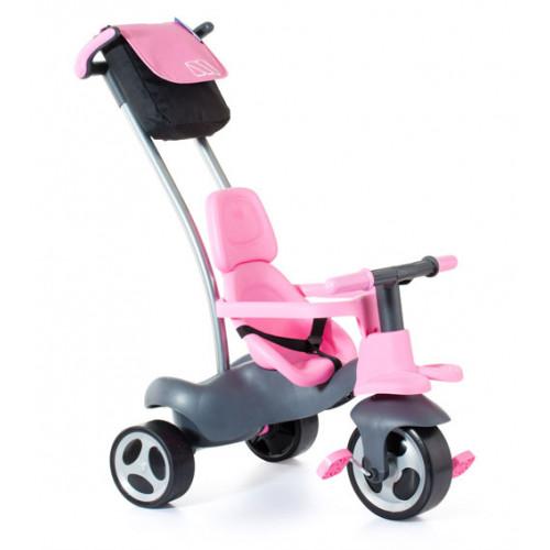 Triciclo urban trike rosa + bolso-1