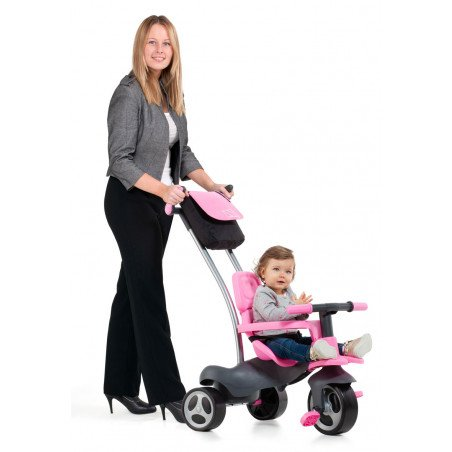 Triciclo urban trike rosa + bolso