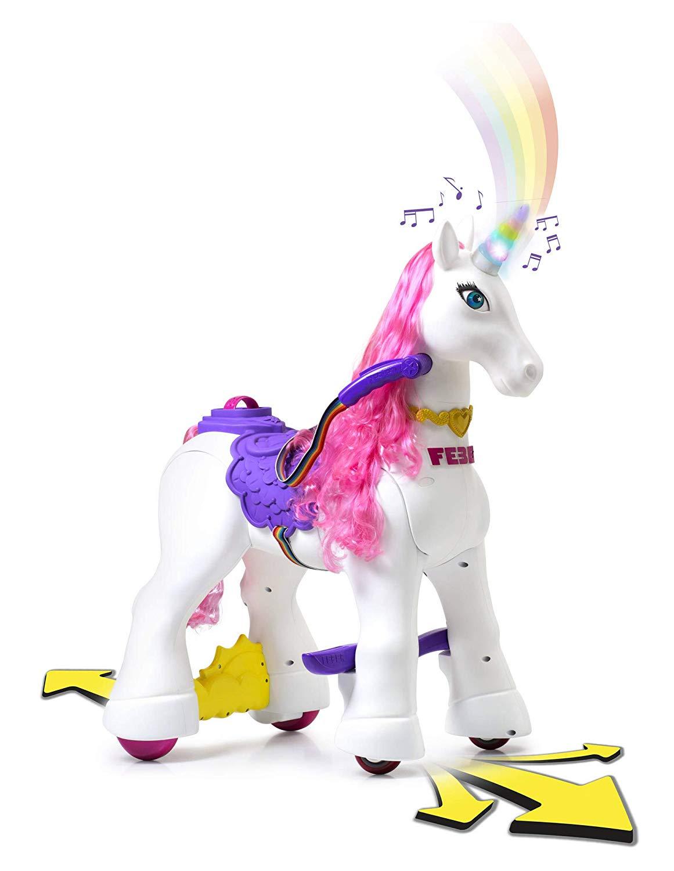 unicornio electrico infantil