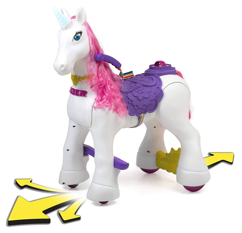 unicornio electrico para niñas