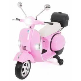 moto rosa electrica para niños